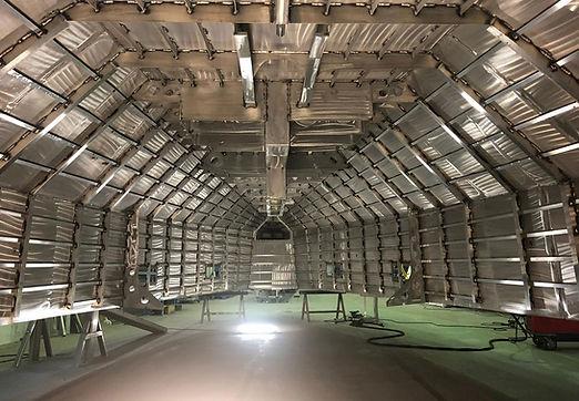 Visite du chantier Alubat
