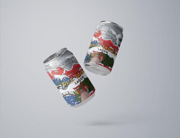 Rice Queen Beer