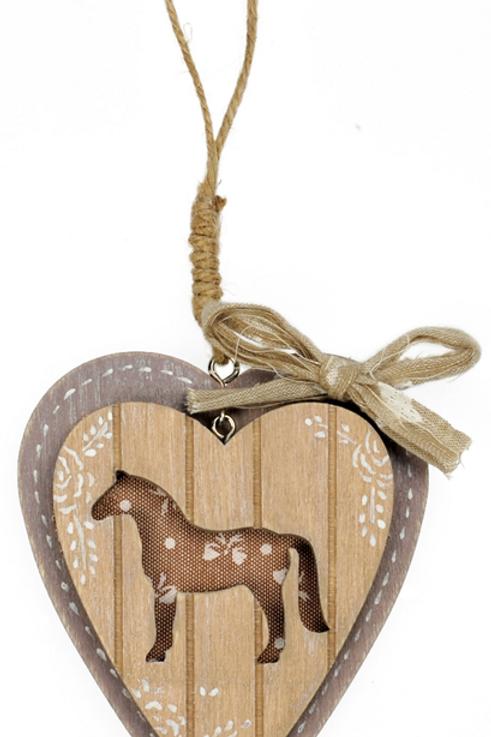 """Horse"" Heart Ornament, Small"