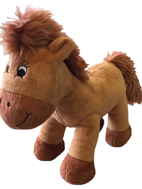 """Chestnut"" the Plush Horse"
