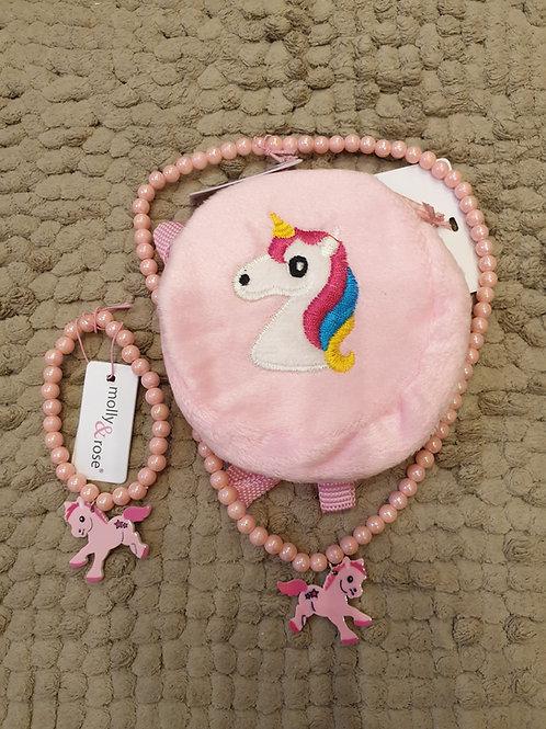 Pony Necklace & Bracelet Gift Set