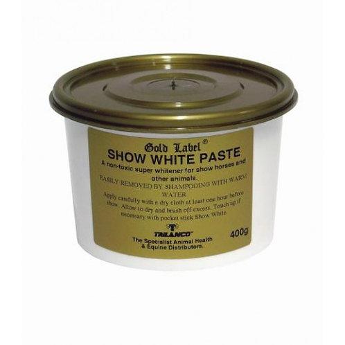 Gold Label Show White Paste 400g
