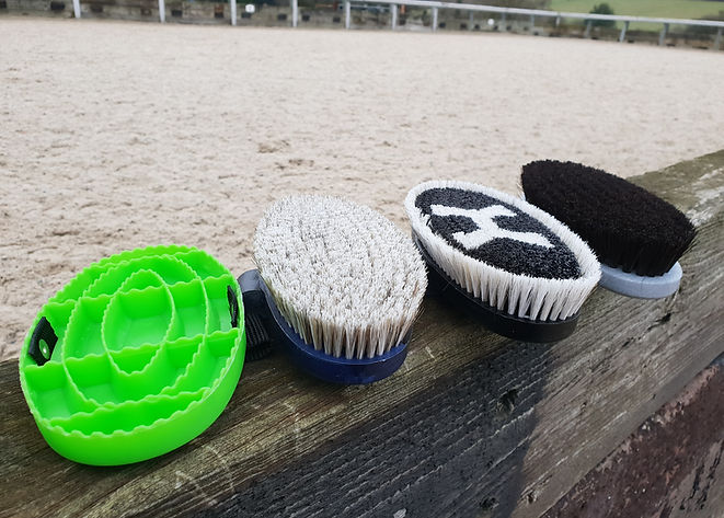 Haas Grooming Brushes for Horses/Ponies/Equine