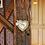 """Thumbnail: """"Horse"""" Heart Ornament, Large"""