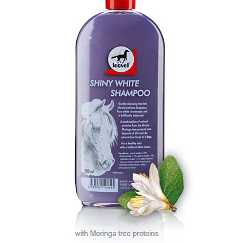 Leovet Shiny White Shampoo 500ml