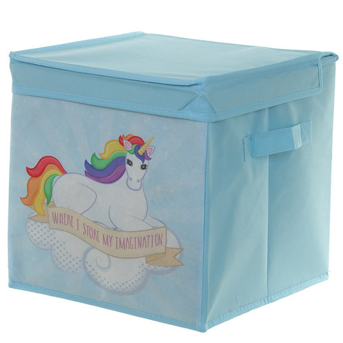 Unicorn Storage Box - Canvas
