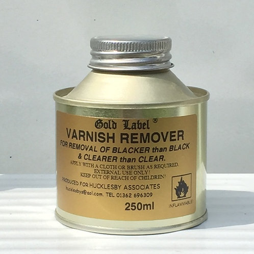 Gold Label Varnish Remover 250ml
