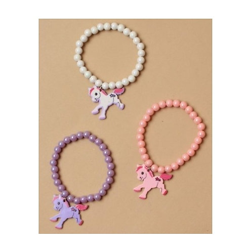 Elasticated Pony Charm Bracelet