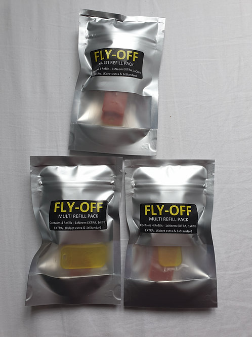 Fly-Off 4 Tablet Multi-Refill Pack