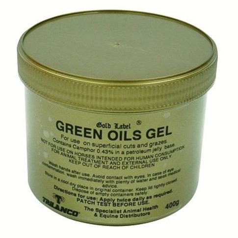 Gold Label Green Oil Gel 400g
