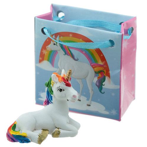 Mini Unicorn with Gift Bag