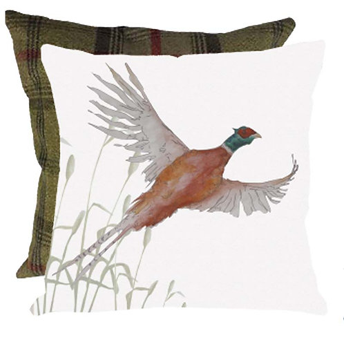 "Cushion ""Charlie Pheasant"" tweede backed"