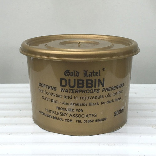 Gold Label Dubbin 500g