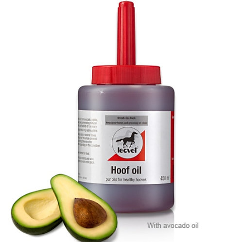 Leovet Hoof oil with Brush 450ml