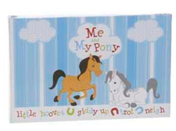 """Me & My Pony"" Photo Memory Book"