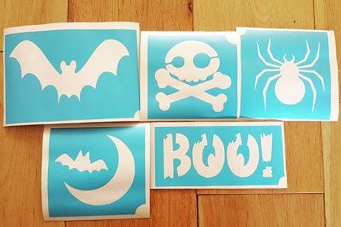 Halloween Stencil Starter Pack