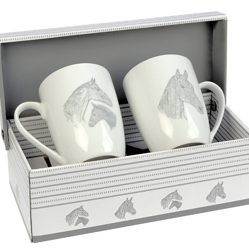 HappyROSS Mare & Foal Mug Set