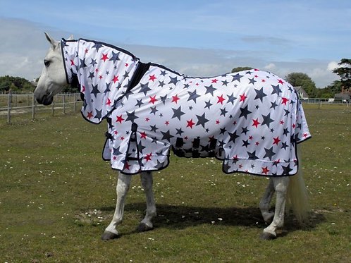 Rhinegold Star Fly Rug with Full Neck