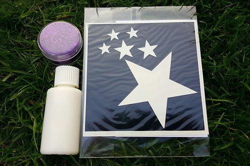 Unicorn Sparkles Eco-Glitter Stencils