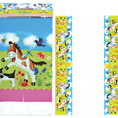 """Pony Pals"" Party Table Cover"