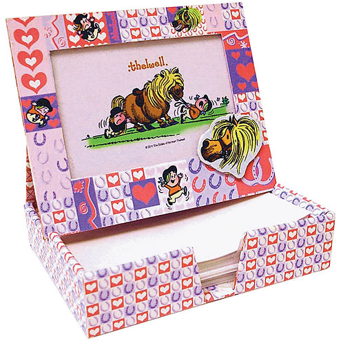 Thelwell Photoframe & Note Box