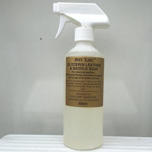 Gold Label Glycerin Saddle Soap Spray 500ml