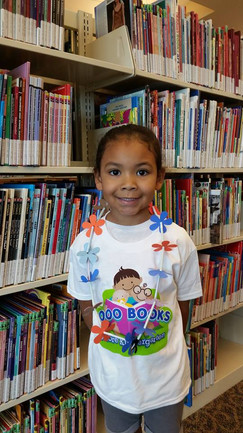 Congratulations to Ravyn who completed the 1000 Books Before Kindergarten challenge!  Anyone who isn't in Kindergarten can participate.  Just stop by any North Las Vegas Library to get a log book.