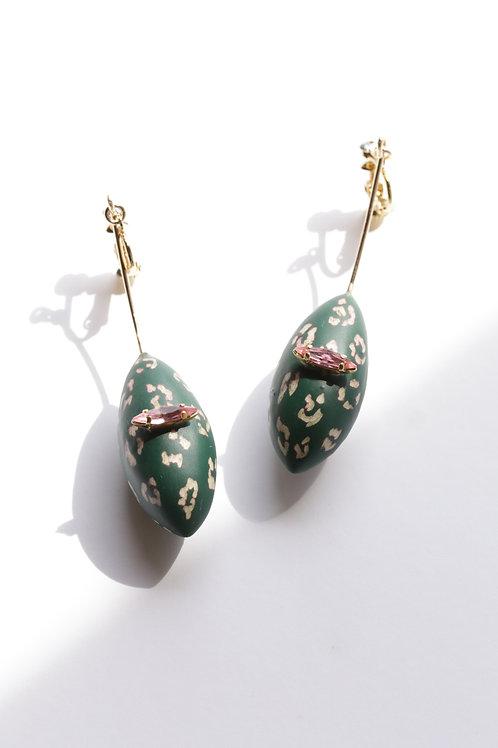 Sus_Earrings(ESU#Leopard_limited)
