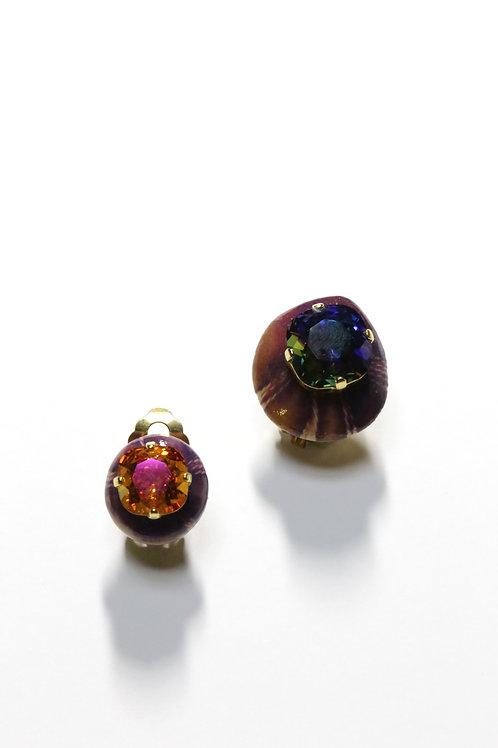 ExprEssions_Earrings(EEX#the universe _OrangePurple)