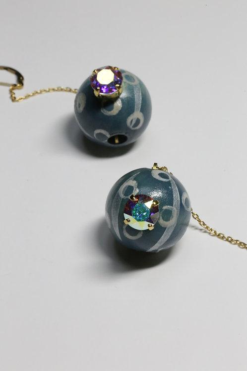 Earth_Earrings(EEA#1001_seablue)