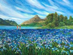Dream of Blue Bell Flowers