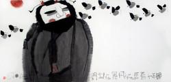 鍾馗看善在飛舞在世間 Zhong Kui