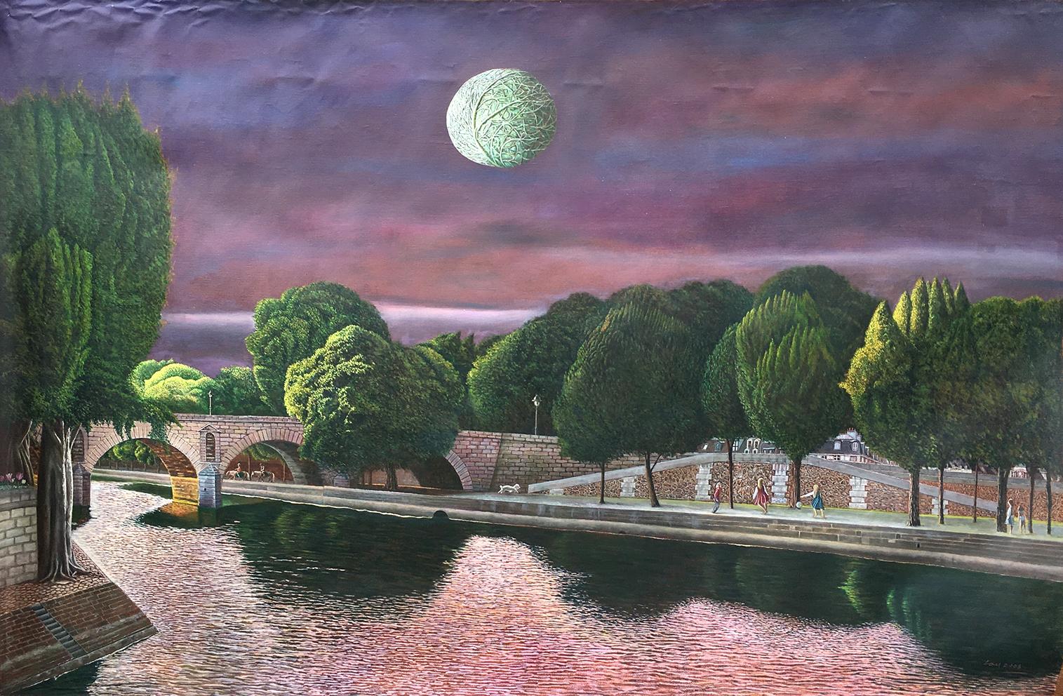 The River Seine 賽納河畔