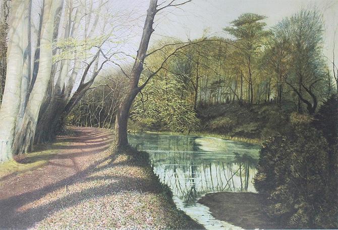 MBA004 Dreghorn Castle Gardens by Matthew Turner - BLINK