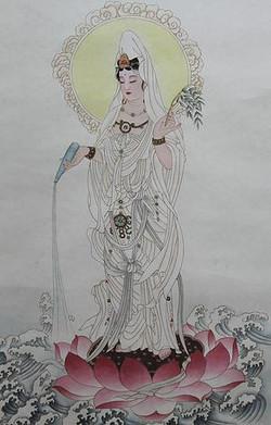 甘露紅蓮觀世音菩薩 Avalokiteśvara