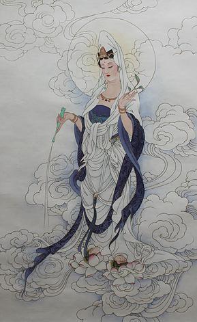 甘露祥雲觀世音菩薩 Avalokiteśvara
