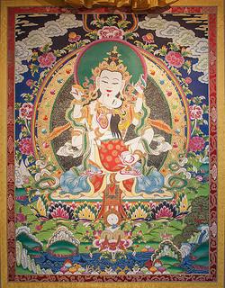 金剛薩垛 (普賢菩薩) Vajra-sattva