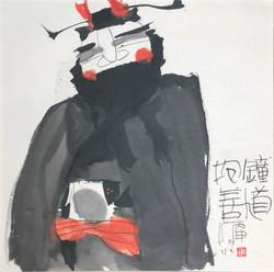 鍾馗抱善 Zhong Kuii
