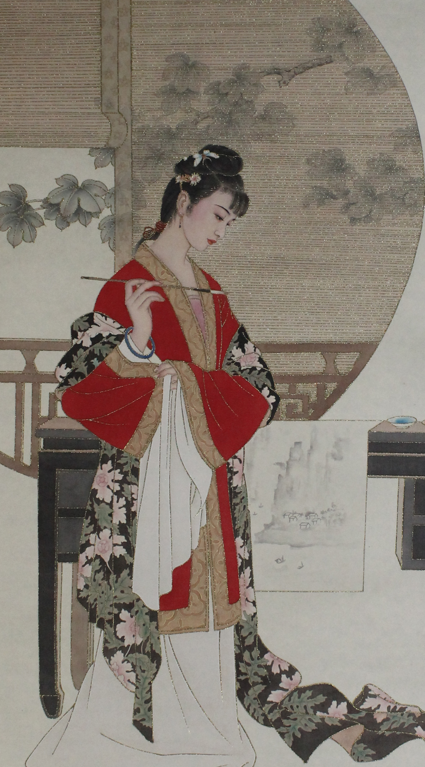 Chinese Painting   礪金工筆國畫