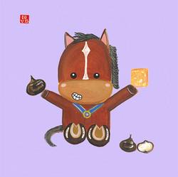 Osmanthus Water Chestnut Cake 桂花馬蹄糕