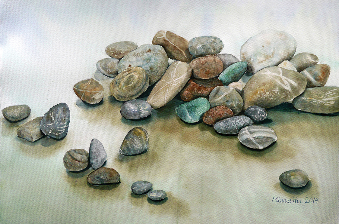 Colourful Pebbles