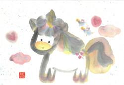 Unicorn with Fairies