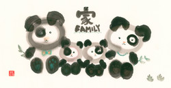 Panda's Family