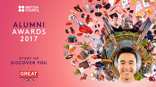 TK has been nominated for the Entrepreneurial Award - the final of the British Council 2017 Alumni A