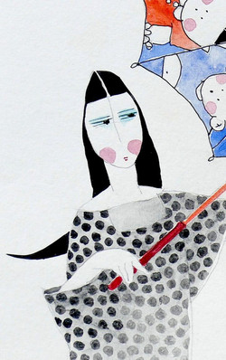 水禾田- 著名小說作家筆下的女性-原作畫展