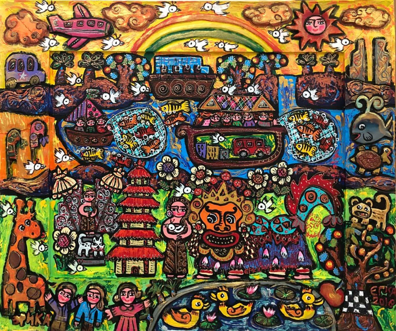 Happy Rainbow in Bali