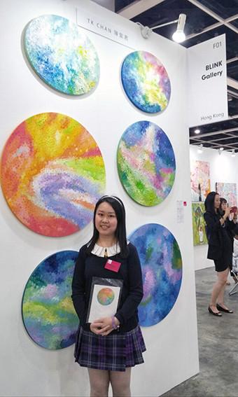 TK Chan at Affordable Art Fair Hong Kong 2016