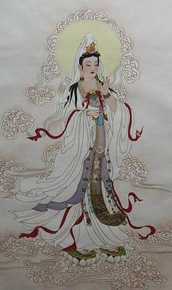 祥雲觀世音菩薩 Avalokiteśvara