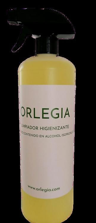 LIMPIADOR HIGIENIZANTE ALTO CONTENIDO EN ALCOHOL ISOPROPILICO