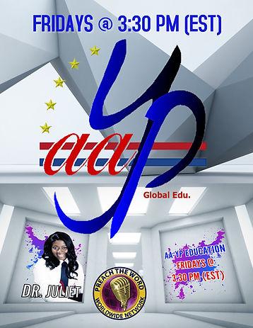 Promo Flier:  AA-YP Global Education.jpg